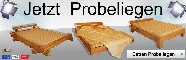 Betten Probeliegen von rankdesigns