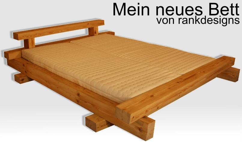 Great Mein Neues Balkenbett Gebrstet By Rankdesigns With Einfaches  Bettgestell